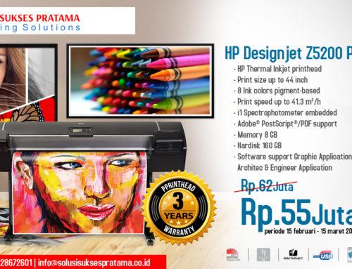Promo HP DesignJet Z5200 PostScript Printer