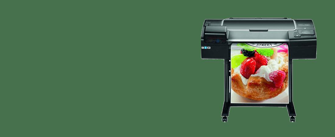 jual plotter hp designjet z2600 graphic printer
