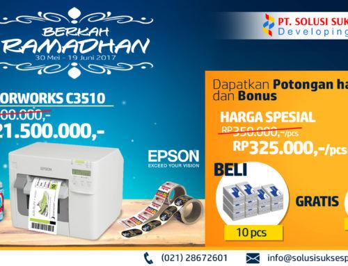 Spesial Ramadhan: Epson ColorWorks TM-C3510