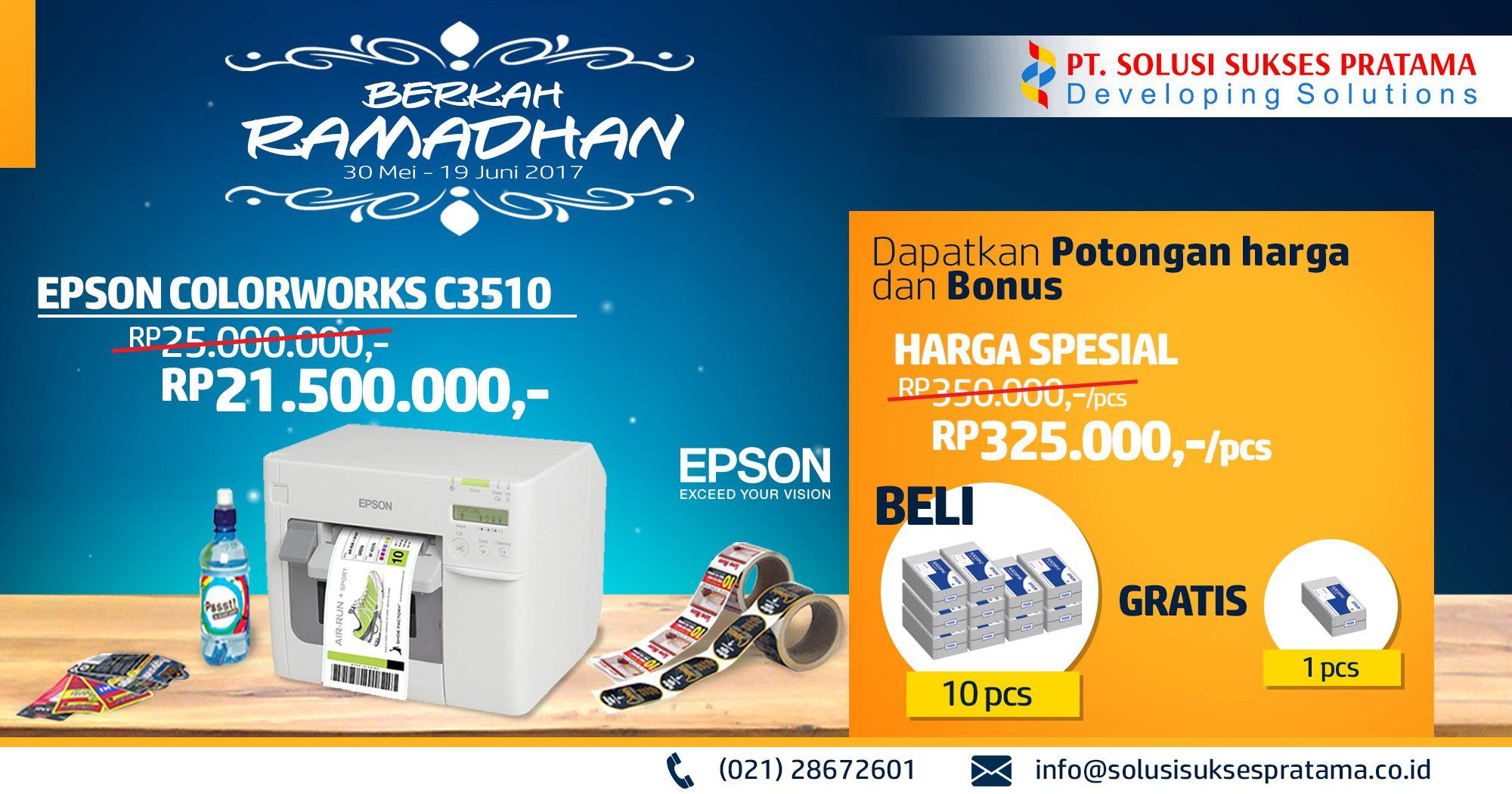 epson tm-c3510 printer label - promo ramadhan