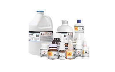printer label botol kimia output