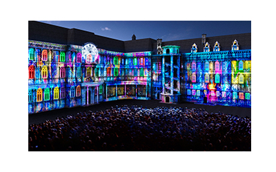 epson high brightness projector mapping projection 3 output