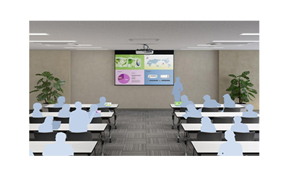 epson high brightness projector presentation 2 output