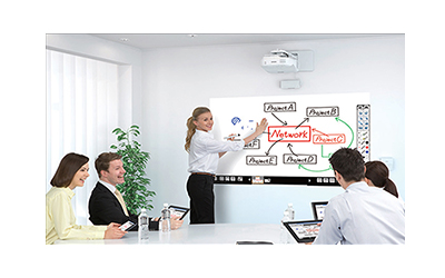 projector interactive erase output
