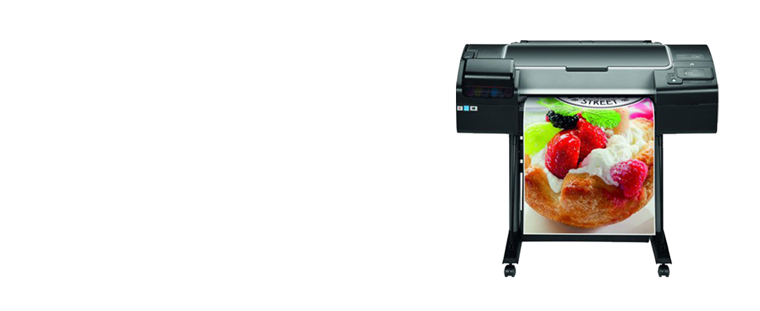 jual plotter hp designjet z2600 graphic printer