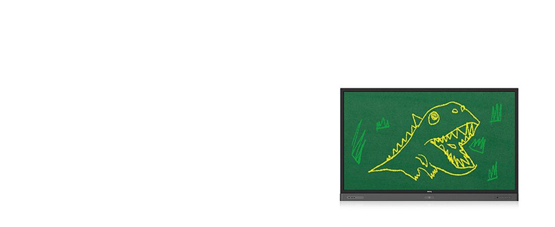 jual interactive flat panel benq rp654k