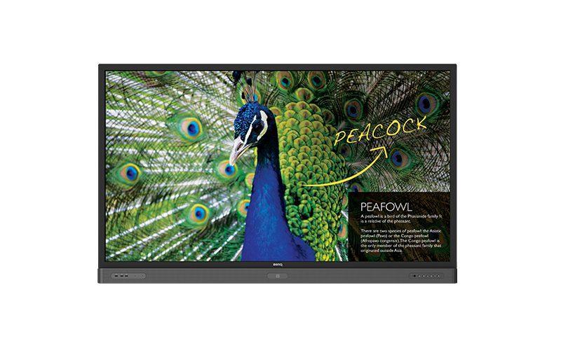 benq rp750k interactive flat panel
