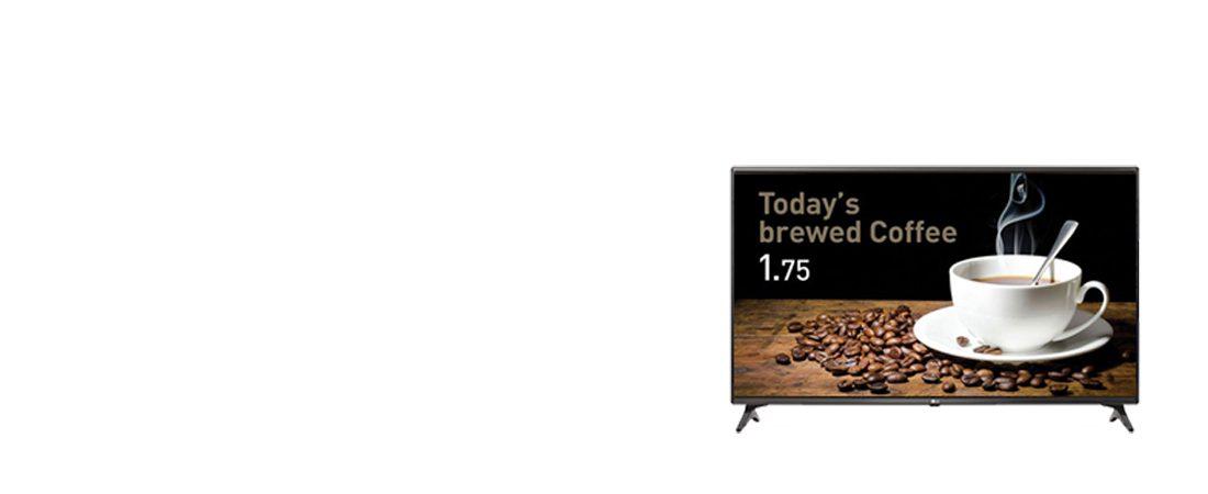jual commercial tv lg 32lv640s smart tv signage
