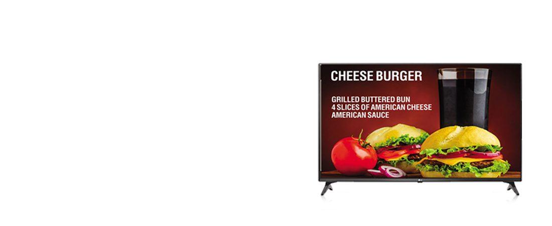 jual commercial tv lg 43lv640s smart tv signage
