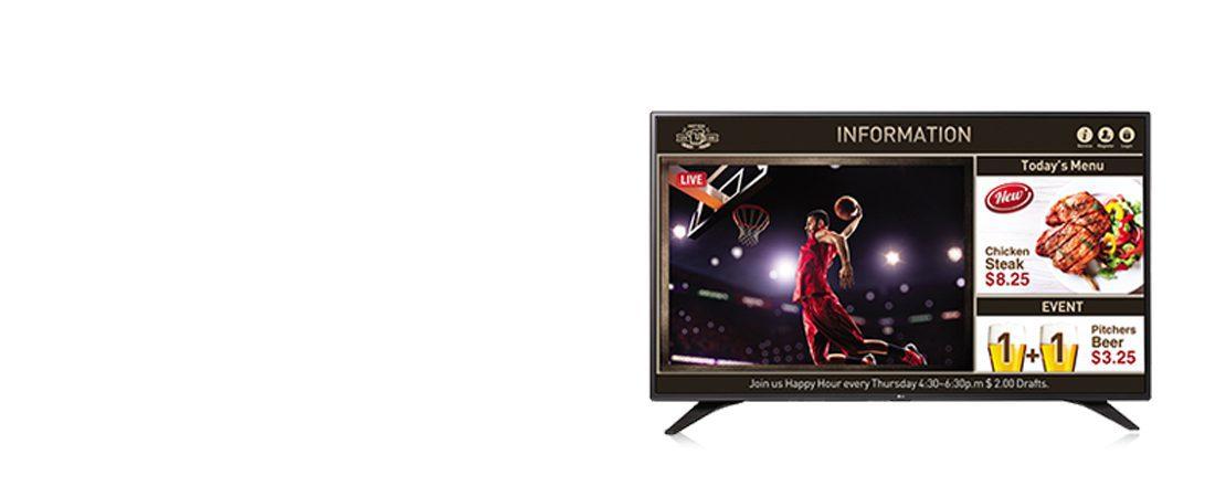 jual commercial tv lg 55lv640s smart tv signage